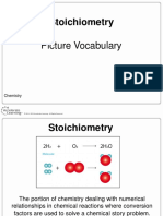 chemistry picture vocabulary- stoich