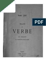Ghil - Traité Du Verbe