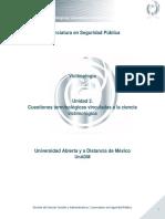 Unidad 2. Cuestiones Terminologicas Vinculadas a La Ciencia Victimologica
