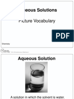 chemistry picture vocabulary- solutions