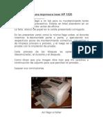 Reparación de una impresora laser HP 1020.docx