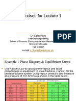 Exercises for Lecture 1-