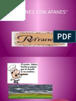 Refranes Sin Afanes (1)
