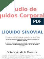 Liquidos Corporales Laboratorio clínico