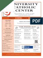 UCC Bulletin 3-13-2016