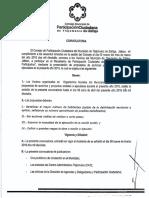 Convocatoria Consejo Municipal de Participación Ciudadana Tlajomulco 2015