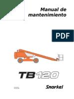 Manual de Mantenimiento TB120