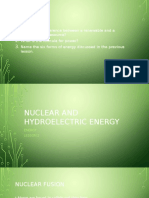 standard nuclear and hydroelectric power