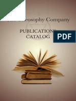Theosophy Company Publications Catalog