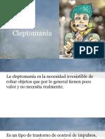 Cleptomanía y Piromanía.