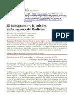 Alfonso Fernandez Humanismo Medicina