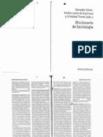 Reproducción, Reproducción Cultural, Reproducción Social (en Giner, Lamo y Torres, DiccSoc)