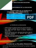 La Teoría de La Educación