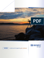 Benro Video Support Brochure Spanish