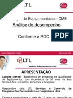 Validação de Equipamentos Em CME_Luciano Manoel
