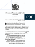 Firearms Amendment) (No. 2) Act 1997