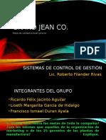 Analisis Caso Grand Jean Co