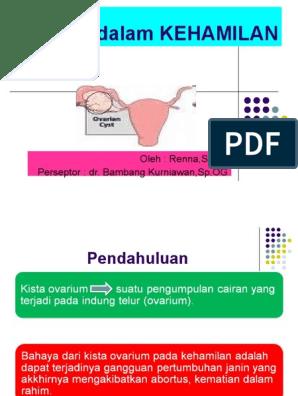 Kista Ovarium Dalam Kehamilan
