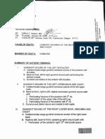 Lavoy Finicum Autopsy Report