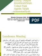 Manhaj Tarjih Muhammadiyah-Wawan Gunawan AW