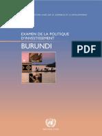 Business Burundi Politique Investissement