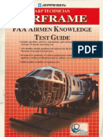 A&P Technician Airframe Faa Airmen Knowledge Test Guide