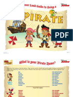 Jake Pirates Activity Book Printables 1210