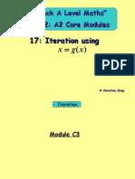 Iteration using x=g(x)