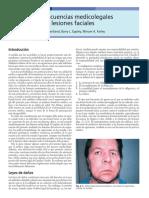2 Consecuencias Medicolegales de Las Lesiones Faciales 2005 Traumatismos Maxilofaciales y Reconstrucci n Facial Est Tica