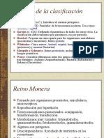 HISTORIA DE LA CLASIFICACION