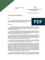 Ordenaza Del Municipio de General Pueyredon