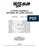 2016 usssa  baseball rule book