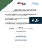 Invitation for Investors