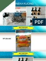 085729878262, Boneka Kucing Anggora, Boneka Kucing Persia, Boneka Kucing Pink