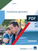 113 Condiciones Generales EduAhorro