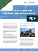 MBA Program Brochure 0714