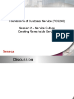 Foundations of customer service chapter 2