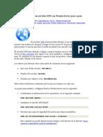 Configurar DNS Ubuntu Server