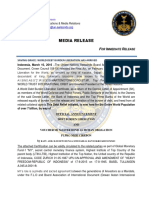 OFFICIAL ANNOUNCEMENT WORLD DEBT BURDEN LIBERATION - NEO MEDIA RELEASE 10 3 2016