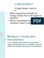 2-3 Moisture Precipitation Clouds PPT LESSON