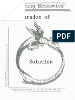 The Paradox of Solution 4-18-10