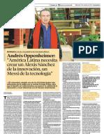 Entrevista a Andrés Oppenheinmer