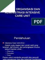 5 - SISTEM ORGANISASI DAN ADMINISTRASI INTENSIVE CARE UNIT.ppt