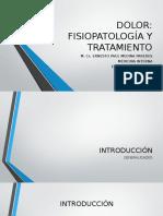 DOLOR - Fisiopatología y Tratamiento - Expo