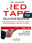 Maine Red Tape Guidebook 2016