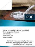 Environmental Issues associated with leather industry