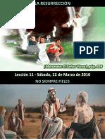 Lección 11 - La Resurrección