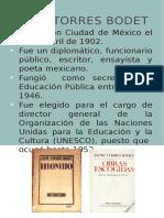 Biografías de autores mexicanos