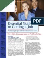essential job skills