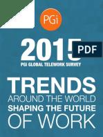 2015 PGi Global Telework Survey